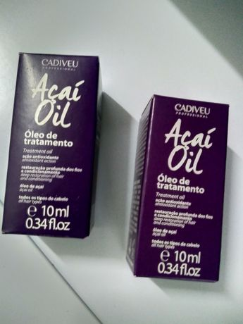 Açaí Oil - óleo tratamento cabelo