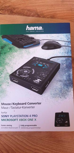 Adapter HAMA konwerter PS4 PRO XBOX ONE X pod myszke i klawiature