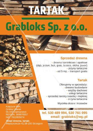 drewno kominkowe, opałowe, tartak, suche drewno