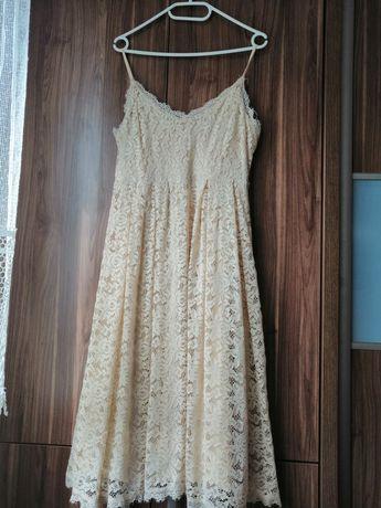 Sukienka koronkowa midi Esmara