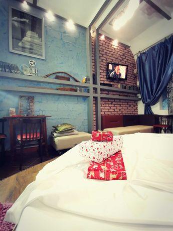 Квартира с круглой кроватью Посуточно Приморский кухня бильярд паркинг