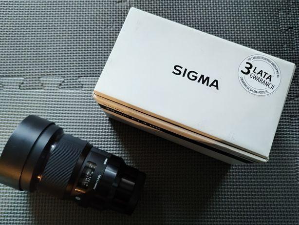 Obiektyw Sigma 20mm 1.4 Art Sony E idealny