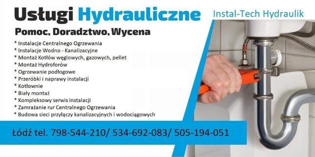 Hydraulik CO WOD-KAN Kotłownie Pompy Ciepła Zamrażanie Grzejników