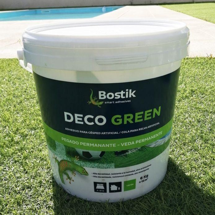Cola Bostik Deco Green -  6kg  para Relva Artificial