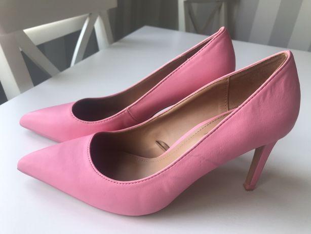 Różowe buty ZARA roz.37