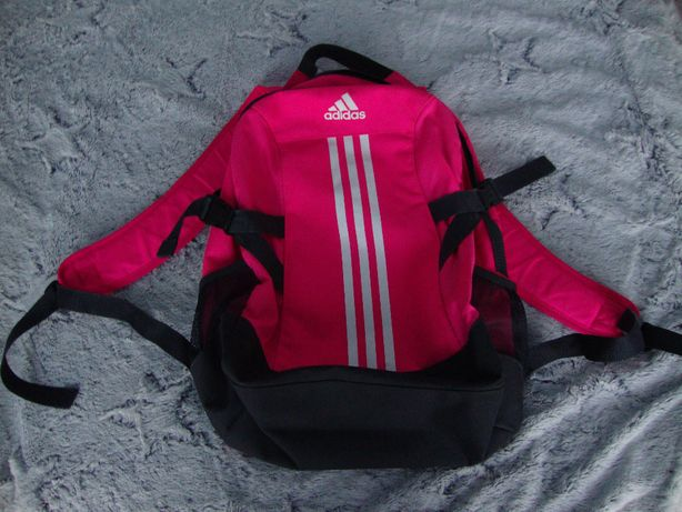 Plecak ADIDAS różowy original.