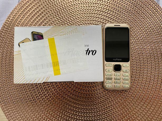 myPhone Maestro złoty