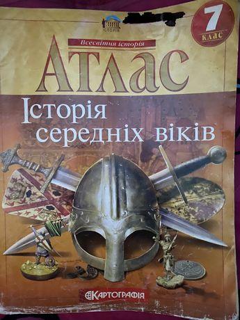 Атлас з історіі Украіни 6,7 клас