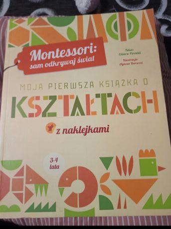 Ksiazka o ksztaltach Montessori