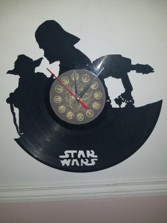Relógio de Parede em Vinil - Star Wars 1