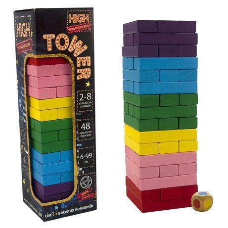 Джанга (вежа) весела розвиваюча гра