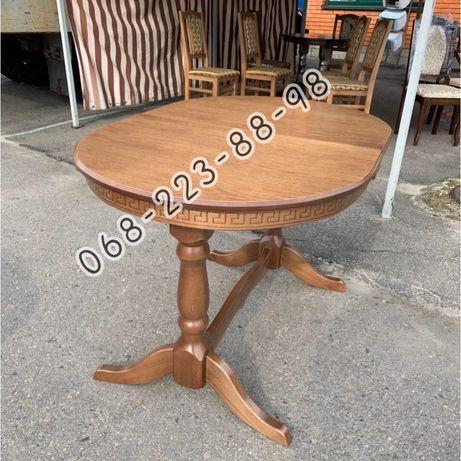 Стол кухонный раскладной деревянный. Столы деревяные. Стіл для дому.