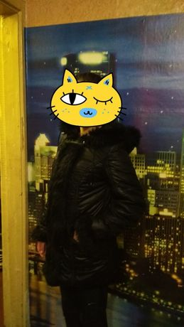 Пальто жимнее 42-44 размер