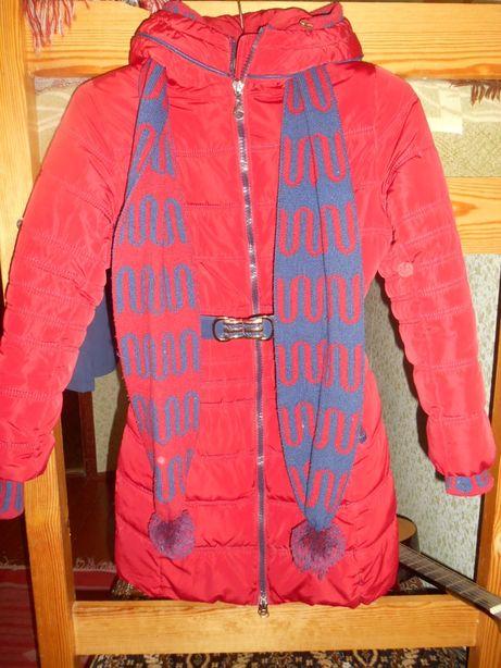 ПУХОВИК- Пальто зимнее подросток
