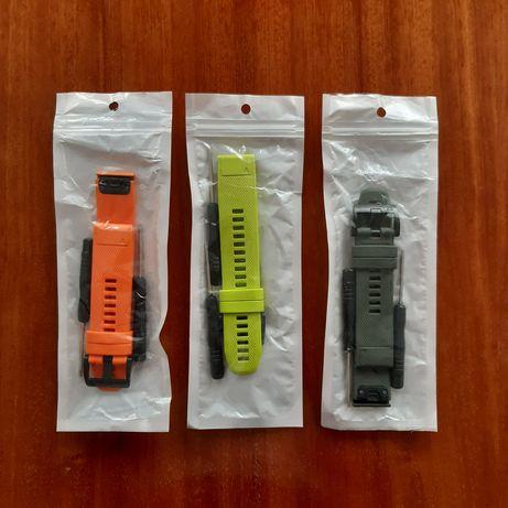 Silikonowe paski do zegarka Garmin Fenix 5