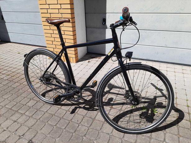 Niemiecki rower miejski premium - Diamant 247 - Nexus 8 - pasek napędu