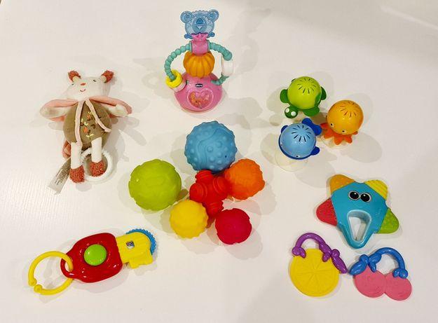 Conjunto brinquedos bebé