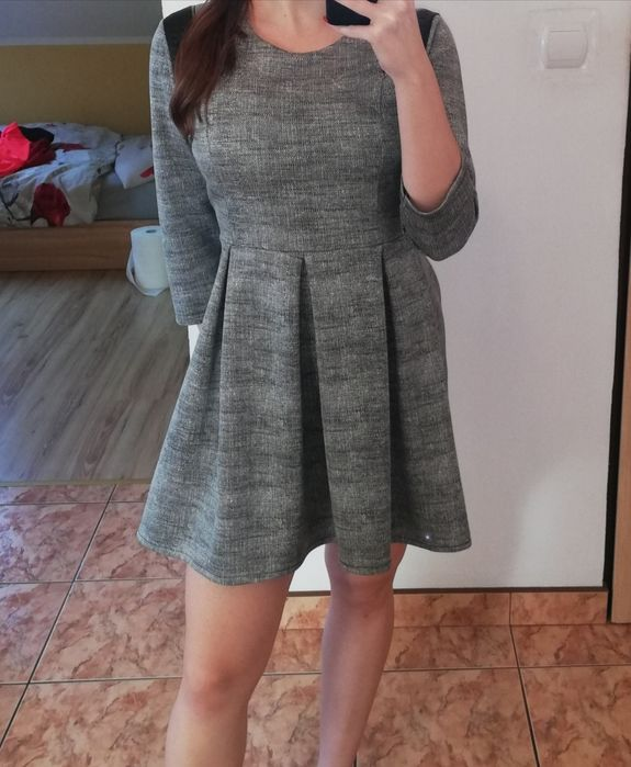 Rozkloszowana sukienka Lipno - image 1