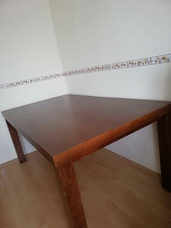 Stół dębowy 180x100 +100 jak Nowy