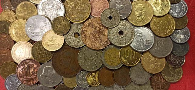 Набор монет без повторів! 140шт. зі всього світу