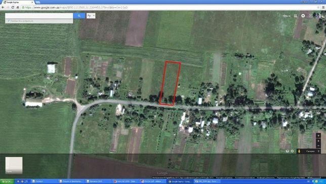 Продам участок в селе Ерковцы