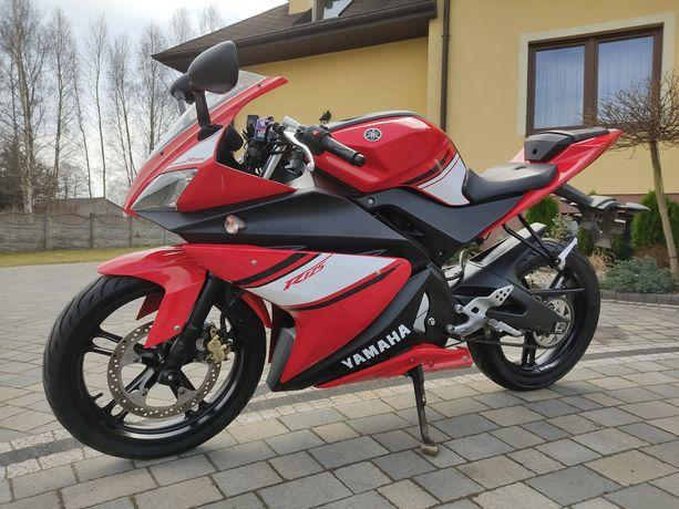 Yamaha YZF-R125 ' 2009 rok! Piękna czerwona! Stan bardzo dobry! Kat.B!