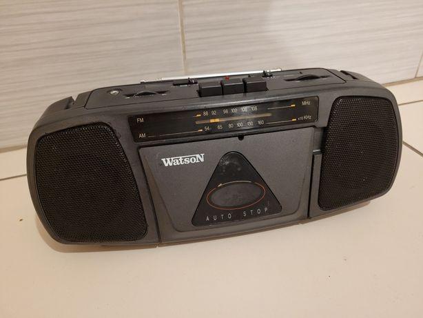 Radiomagnetofon mini Watson działka, garaż