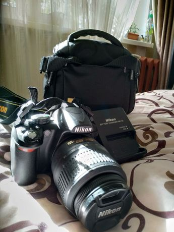 Зеркальный фотоаппарат Nikon D3100 kid + объектив AF - S 18-55