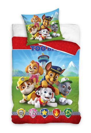 Детское постельное белье Щенячий патруль полуторный комплект унисекс