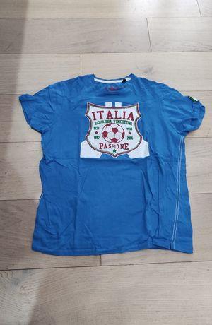 Koszulka niebieska Italia Włochy rozmiar L