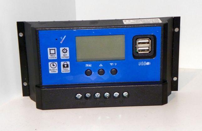 Regulator solarny, kontroler napięcia 12V/24V 60A