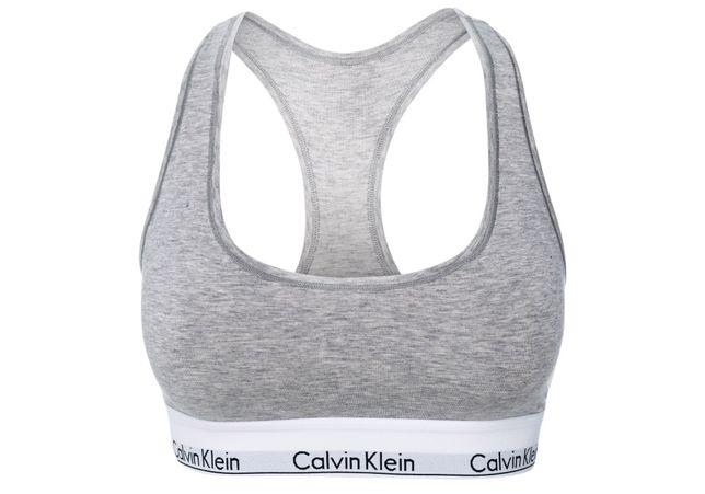 Biustonosz Calvin Klein F3785 szary r.M