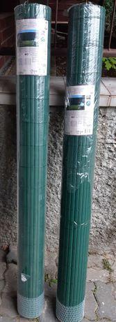 Dwustronna mata osłaniająca z PVC , ogrodzenie, osłona balkonowa 2szt