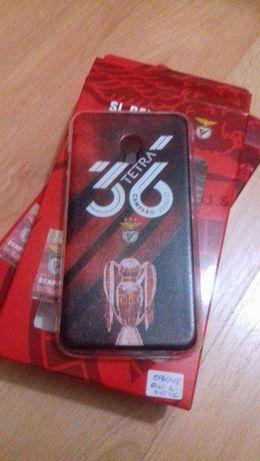 Capa Oficial Benfica Alcatel Pixi 4 5' 4G (OT5045)
