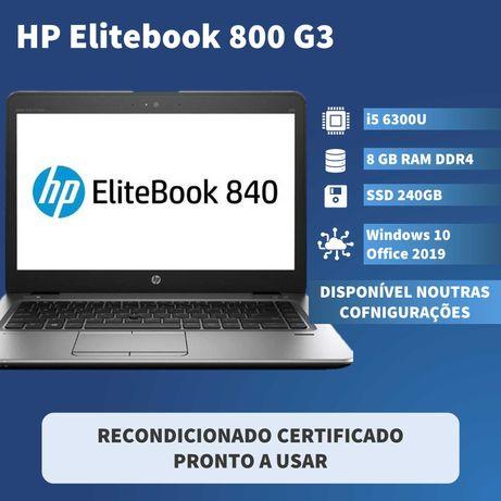 HP EliteBook 840 G3 - i5 6300U 8GB RAM