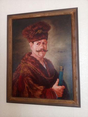 Szlachcic Polski rok 1972rok kopia Rembrandta
