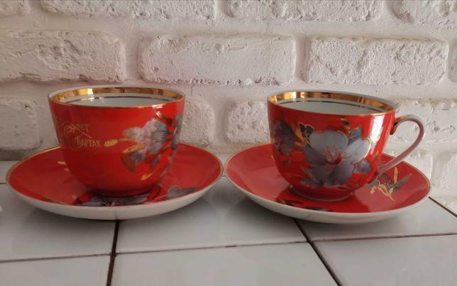 Чайная пара Мальвы, Барановский завод
