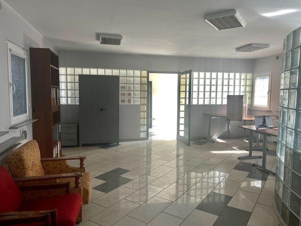 lokal biurowo - usługowy 57 m2, parter, 2 pokoje