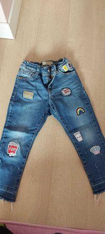 Spodnie jeansy Next 104