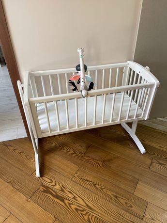 Детская Кроватка-люлька + матрас