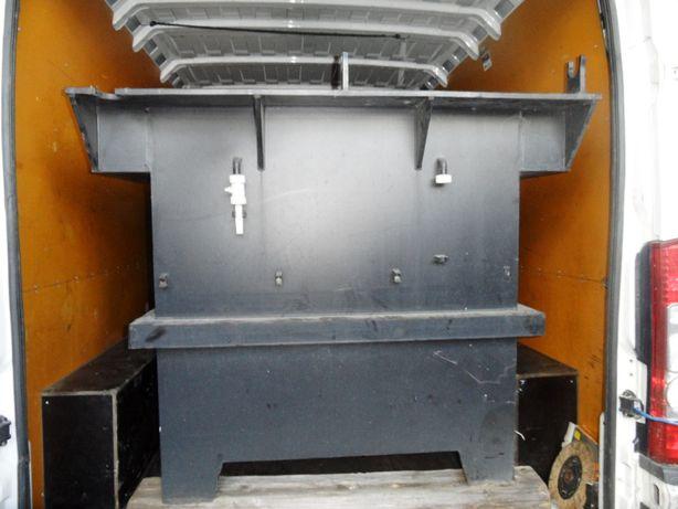 Zbiornik o pojemności 1500 l na olej szambo mocny - grube sciany