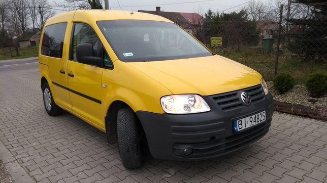 Volkswagen Caddy 2.0 SDI 2xdrzwi  przeszkolony dostawczy F-Vat 23%