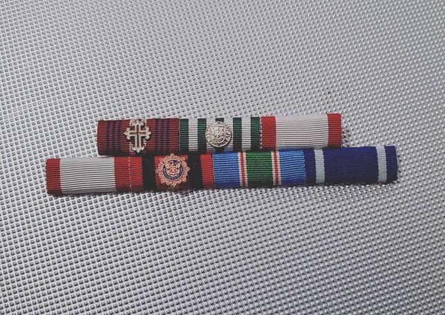 Bárretes medalhas e condecorações