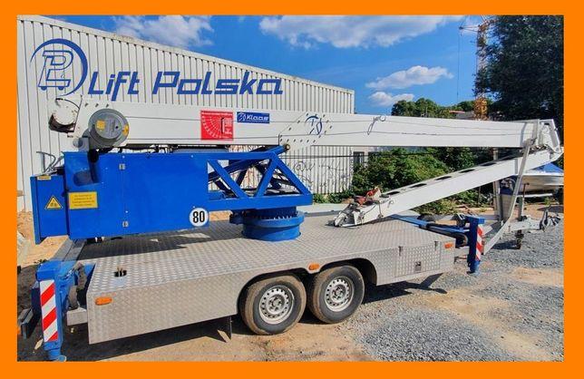 KLAAS K20-30 TS żuraw dekarski dźwig ciesielski LIFT POLSKA nie bocker