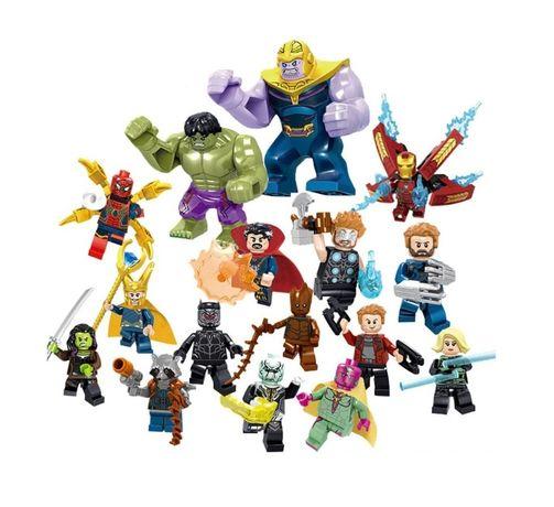 Avengers Vingadores Marvel DC Comics 16 figuras novas para crianças