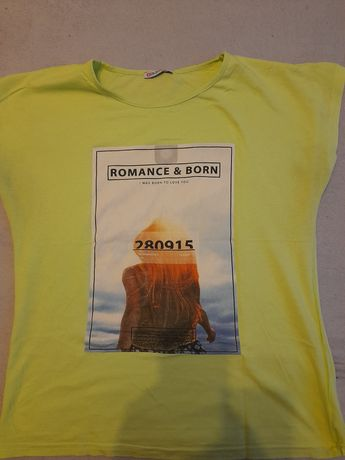 Jaskrawa koszulka