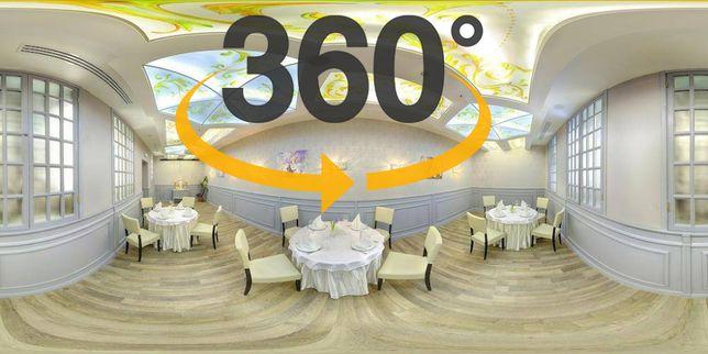 Виртуальные 3д туры, панорамы 360 с публикацией в Google