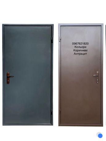 Вхідні металеві двері