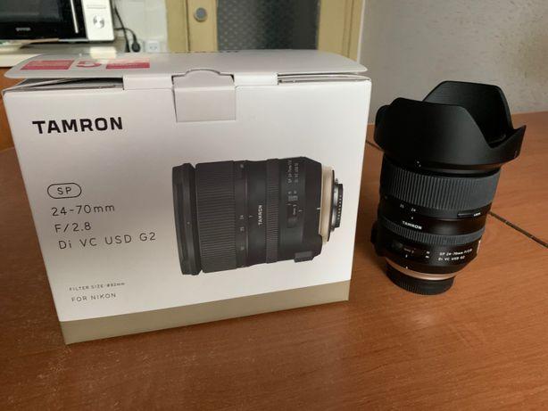 Объектив Tamron AF SP 24-70mm f/2,8 Di VC USD G2 (Nikon)