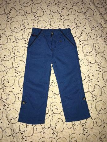 штаны штанишки джинсы Kiabi фирменные летние на 2 года